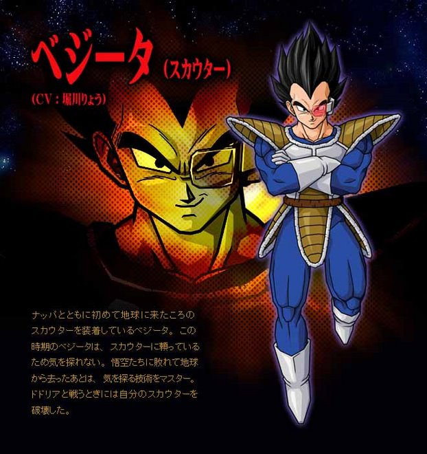 Dragon Ball Z Anime Characters : Vegeta dragon ball z anime characters database
