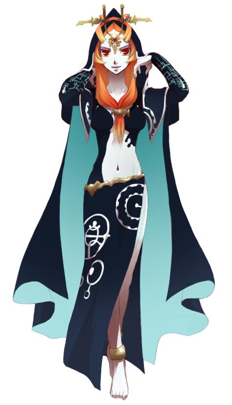 Midna The Legend of Zelda: Twilight Princess Personaje