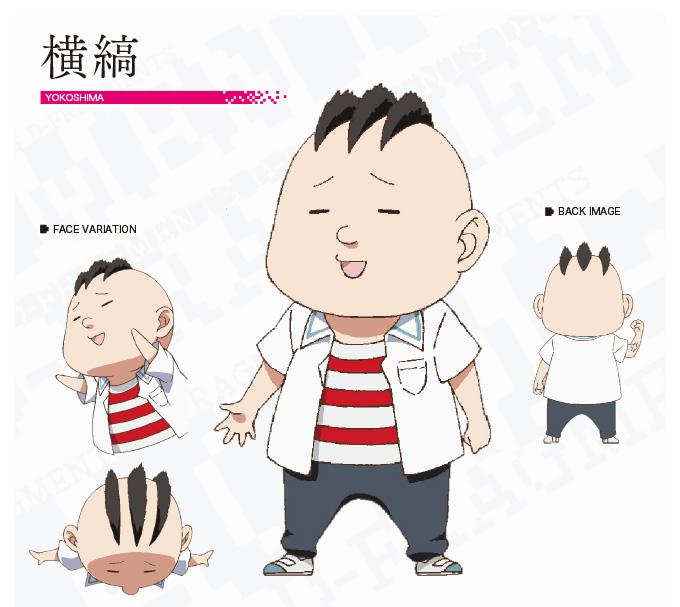 D Frag Anime Characters : Yokoshima d fragments anime characters database