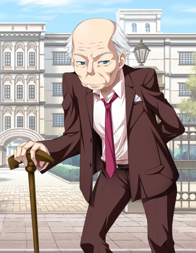 Anime old man