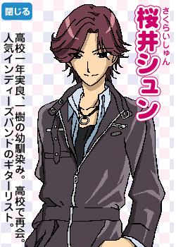 Shun Sakurai   Papa to Kiss in the Dark   Anime Characters ...