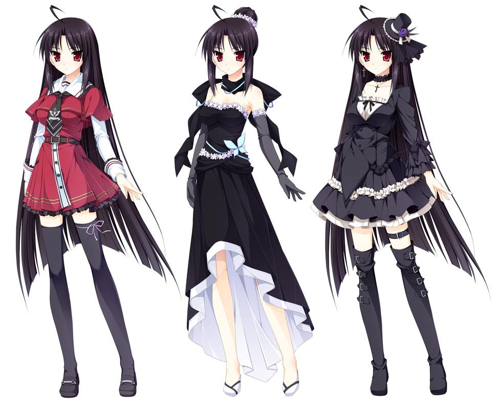 Canvas 2 Anime Characters : Shizuku karasuma otome ga tsumugu koi no canvas anime