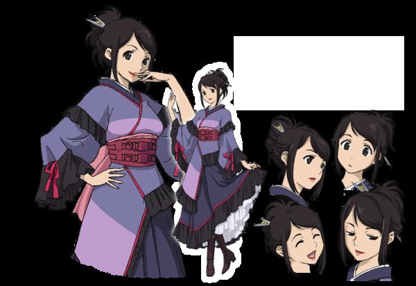 Anime Character Quon : Tei ryuumonji towa no quon chapter fleeting petals