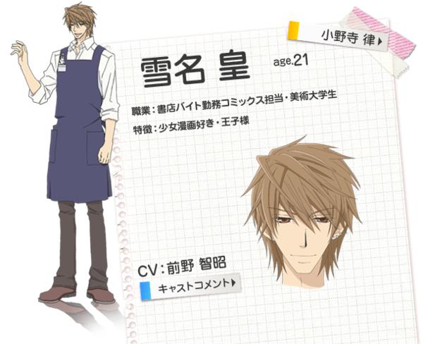 Sekai Ichi Hatsukoi Characters Related Keywords ...