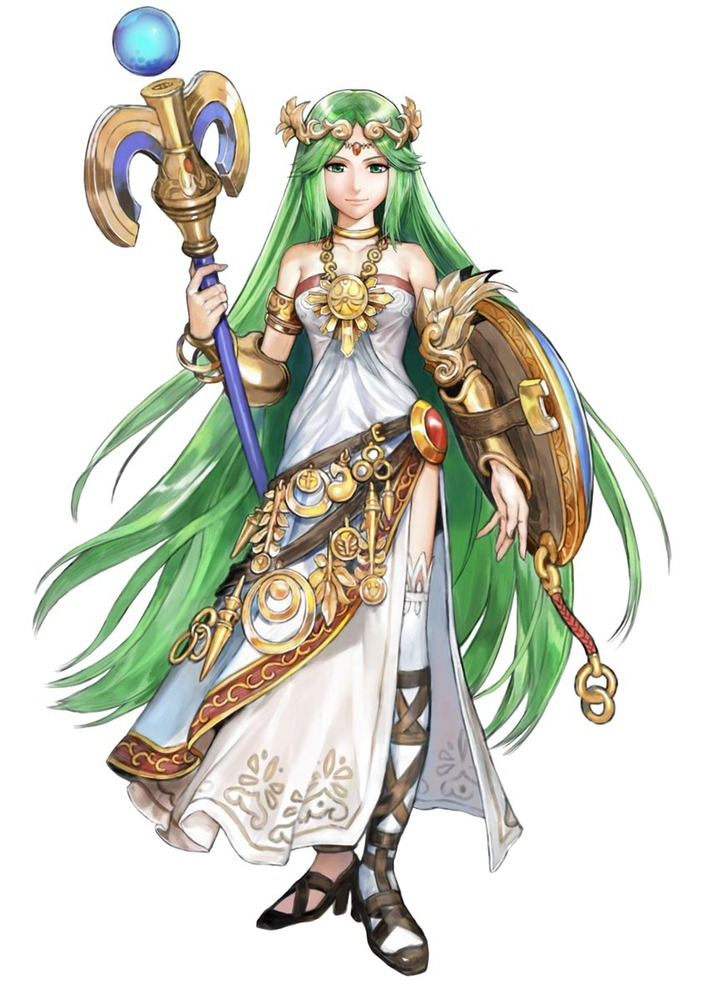 Palutena kid icarus uprising anime characters database