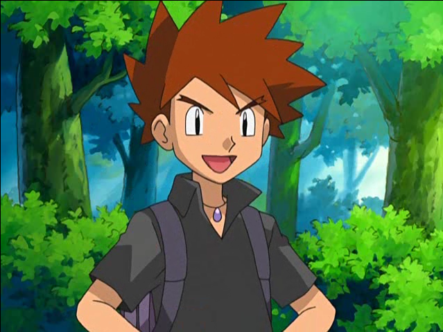 Gary Oak Pokemon Indigo League Anime Characters Database