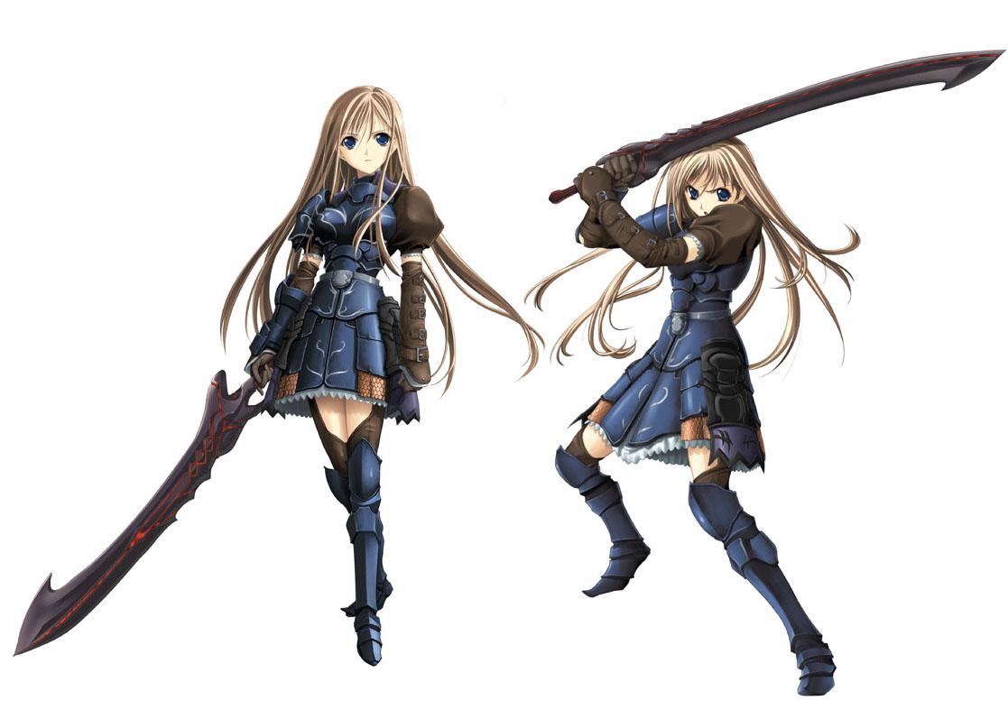 Anime Characters Katana : Katima aigias seinarukana the spirit of eternity sword
