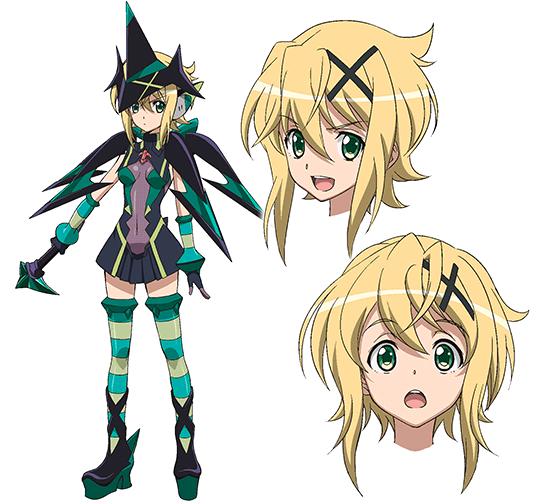 G Anime Character : Kirika akatsuki senki zesshou symphogear g anime
