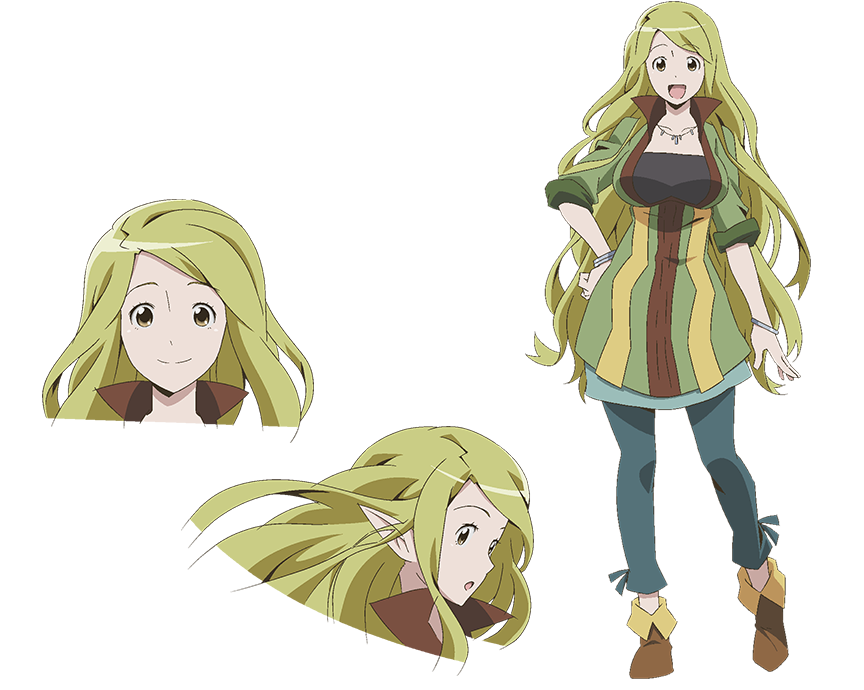 marielle log horizon anime characters database