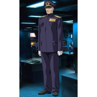 Image of Captain Kozawa of the Mogami