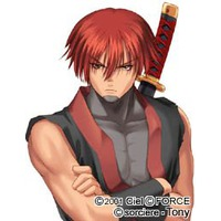 Red hair male characters